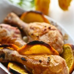 Куриные ножки в апельсиновом маринаде