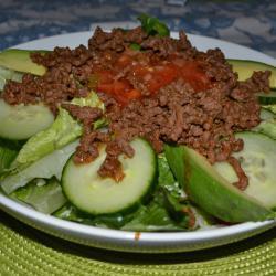Тако-салат в мексиканском стиле