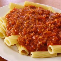 Мясной томатный соус для макарон