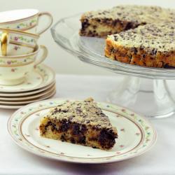 Пирог из рикотты с шоколадом