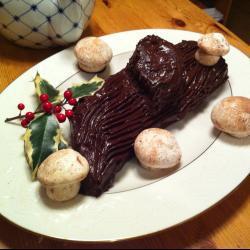 Торт Шоколадное Полено
