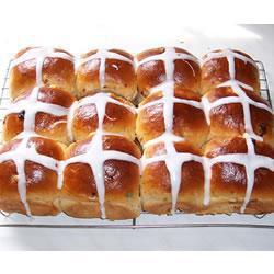 Пасхальные булочки в хлебопечке