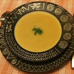 Овощной суп с репой