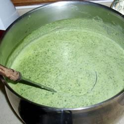 Заправочный суп со щавелем