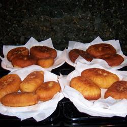 Пирожки жаренные  с мясным фаршем