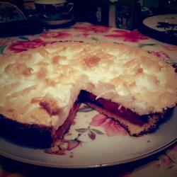 Тыквенный пирог с меренгой