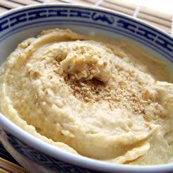 Хумус из турецкого гороха