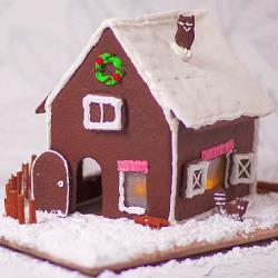 Рождественский пряничный домик