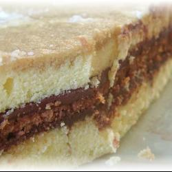 Французский кофейно-шоколадный торт