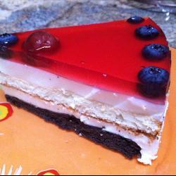 Торт-желе