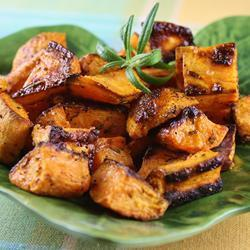 Сладкий картофель (батат) в духовке