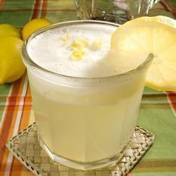 Лимонная гранита в блендере