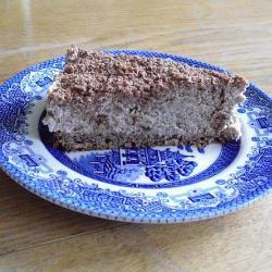 Орехово-шоколадный торт со взбитыми сливками