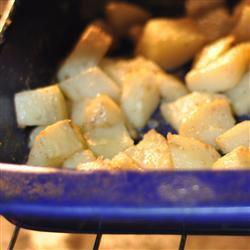 Картофель запеченный в духовке со сливочным маслом
