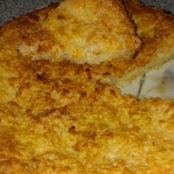 Бразильский пирог с кокосом и сгущенным молоком
