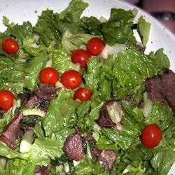 Тайский салат с говяжьим стейком