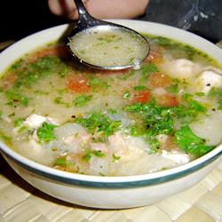 Бразильский суп с рисом