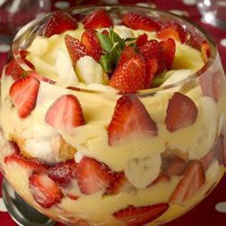 Английский десерт Трайфл