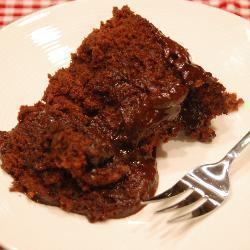 Шоколадный пирог в микроволновке за 7 минут