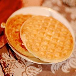 Вафли к завтраку