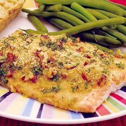 Запеченный лосось с дижонской горчицей