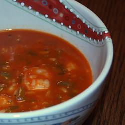 Быстрый рыбный суп с морепродуктами