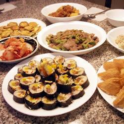 Корейские суши Ким Паб
