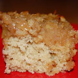 Овсяный пирог с кокосово-ореховым кремом