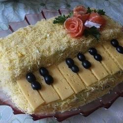 Салат Белый рояль
