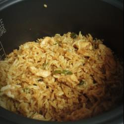 Терияки рис с курицей в мультиварке