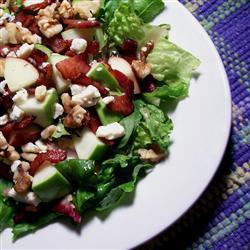 Зеленый салат Стилтон