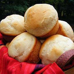 Быстрые булочки в форме для кексиков