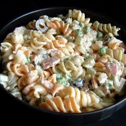Итальянский макаронный салат Конфетти