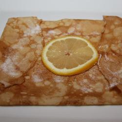 Блинчики с лимонным соком