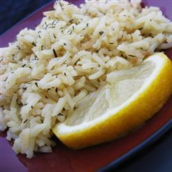 Ароматный рис с тимьяном