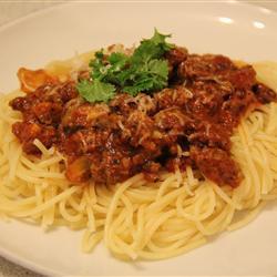 Итальянский мясной томатный соус