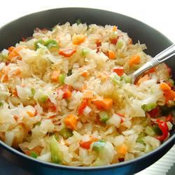 Салат из кислой капусты