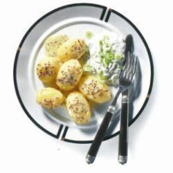 Картофель с тмином и творогом