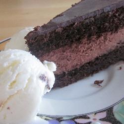 Шоколадный тортик по-польски