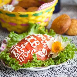 Салат Пасхальное яичко