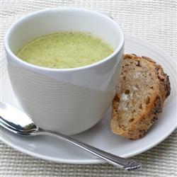 Кремовый суп пюре с брокколи
