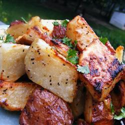 Картофель на гриле по-быстрому