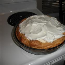Заварной пирог с творогом