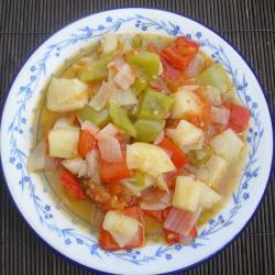 Боббия - овощное рагу по-сицилийски