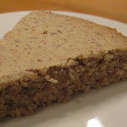 Французский пирог из грецких орехов