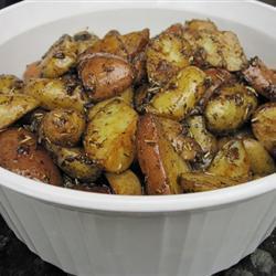 Пальчиковый картофель с розмарином