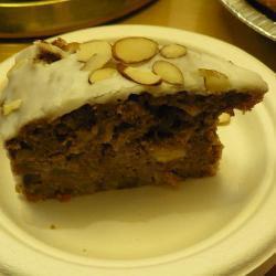 Яблочно-ореховый торт