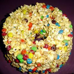 Торт из воздушной кукурузы