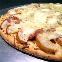 Пицца с грушами