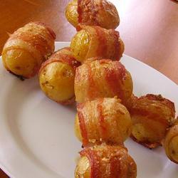 Шашлык из молодой картошки